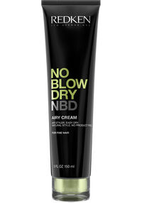No Blow Dry Airy Cream for Fine Hair