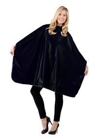 Jumbo Shampoo Cape - Black