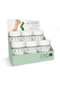 Cucumber Heel Therapy 6-Piece Display