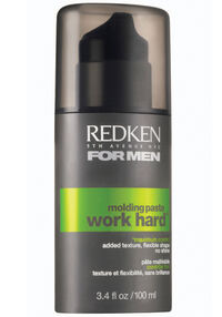 Redken for Men™ Work Hard Molding Paste 3.4 oz.