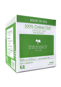 Junior Pak 100% Cotton Coil - 500 ft.