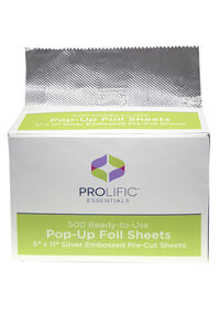 Ready To Use Pop Up Foil Sheets - 500 ct.