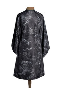 City Map Hairstyling Cape