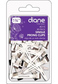 Single Prong Clips - 80 ct.