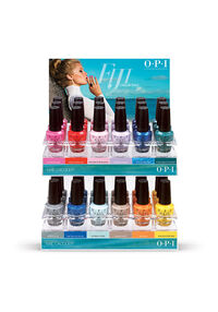Fiji Nail Lacquer 36-Piece Display - Edition C