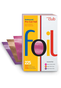 "Embossed 5""x8"" Pre-Cut Foil - 225 ct. Assorted Pack"