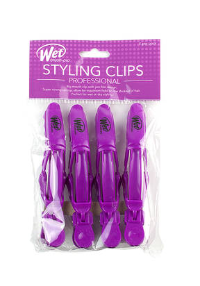 Styling Clips 4-Pack - Purple
