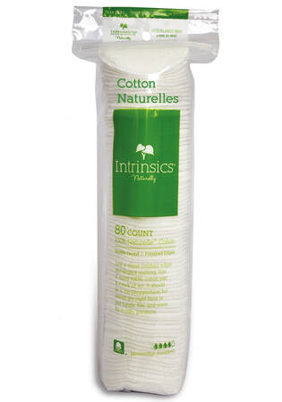 Cotton Rounds Naturelles - 80 ct.