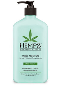 Triple Moisture Herbal Whipped Body Créme