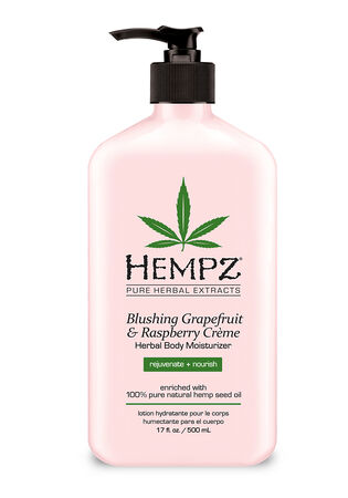 Blushing Grapefruit & Raspberry Crème Herbal Body Moisturizer 17 oz.