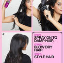 Quick Blowout Heat Protecting Blowdry Spray