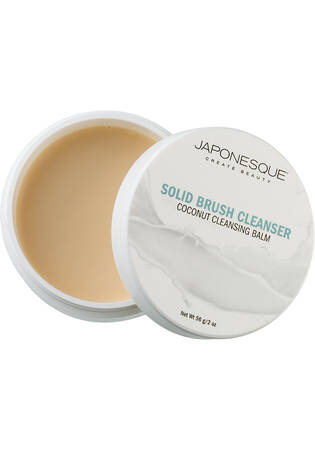 Solid Brush Cleanser Coconut Cleansing Balm 2 oz.