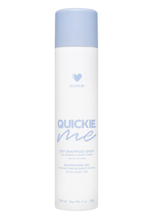 Quickie.Me Dry Shampoo Spray for Blonde and Pastel Tones