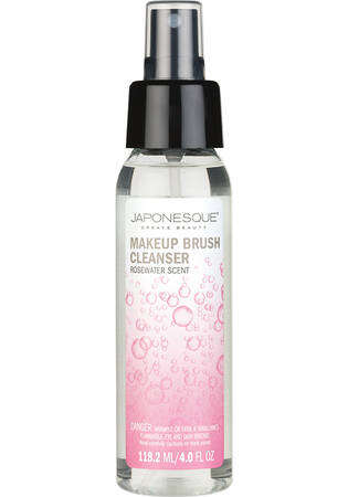 Makeup Brush Cleanser Rosewater Scent 4 oz.