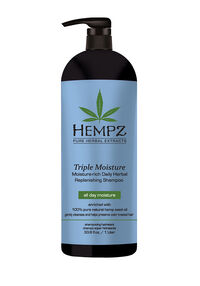 Triple Moisture Moisture-Rich Daily Herbal Replenishing Shampoo