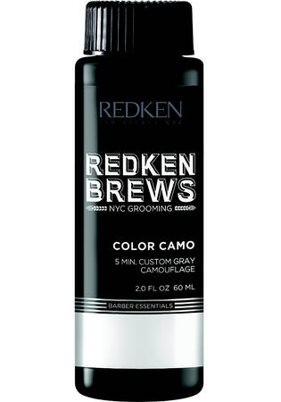 Redken Brews Color Camo 5 Minute Custom Gray Camouflage