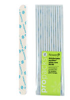 White Mylar PuriFile Nail File 80/80 Grit - 12 Pack