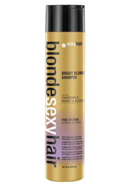 Blonde Sexy Hair Bright Blonde Shampoo Violet Shampoo For Blonde Highlighted Amp Silver