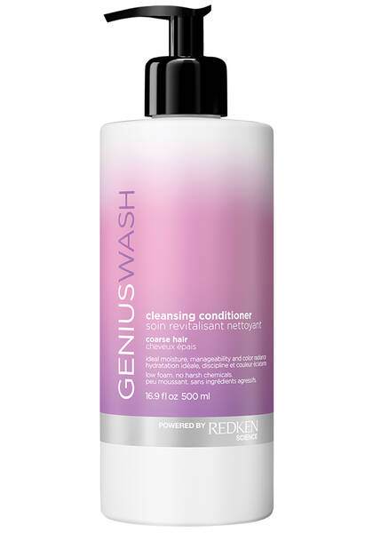 Genius Wash Cleansing Conditioner For Coarse Hair