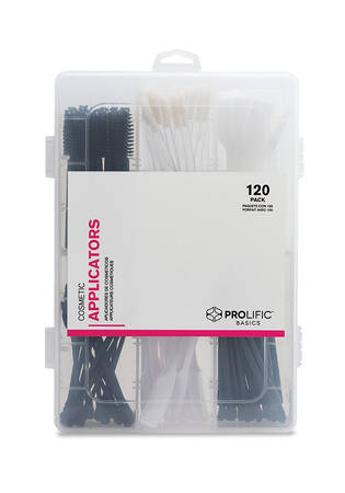 Cosmetic Applicators Kit 120-pk.