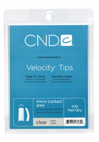 Velocity Nail Tips Clear 100 ct.