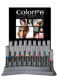 Colorme Temporary Hair Color 18-Piece Display