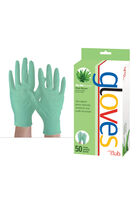 AloeEssence Disposable Vinyl Gloves - 50 ct.