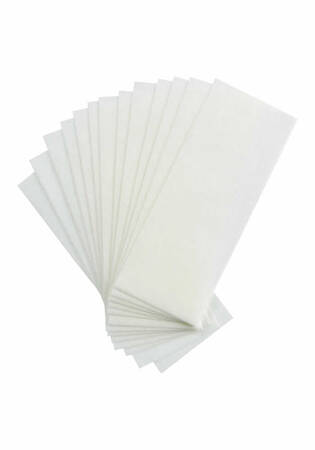 Small Facial Non-Woven Cloth Waxing Strips - 100 ct.