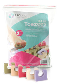 Pro Toezees Spa Colors - 144 pk.