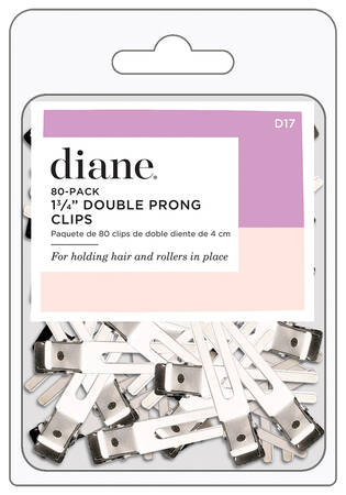"""1.75"""" Double Prong Clips - 80 ct."""