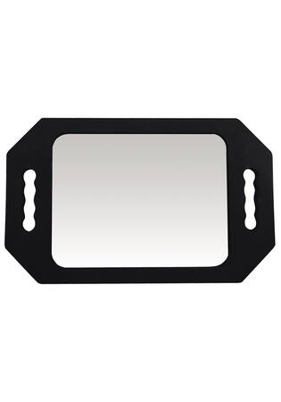 Pro Rectangular Soft Foam Hand Mirror