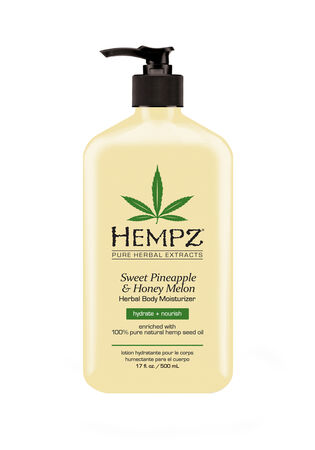 Sweet Pineapple & Honey Melon Herbal Body Moisturizer