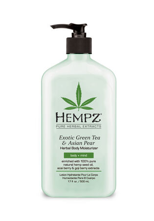 Exotic Green Tea & Asian Pear Herbal Body Moisturizer