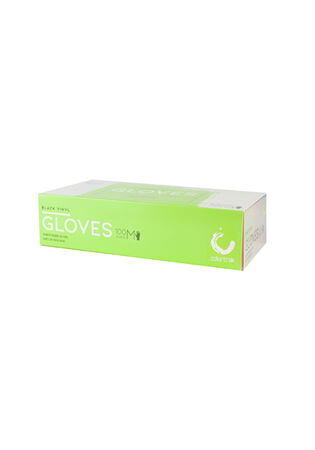Black Disposable Gloves - 100 ct.