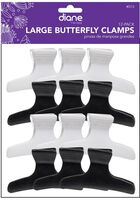 Large Butterfly Clamps - 12 ct.