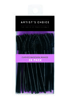 Curved Disposable Mascara Wands - 36 ct