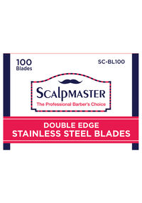 Double Edge Stainless Steel Blades - 100 ct.