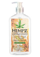 Citrine Crystal Herbal Body Moisturizer 17 oz.