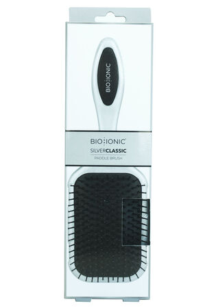 Silver Classic Paddle Brush