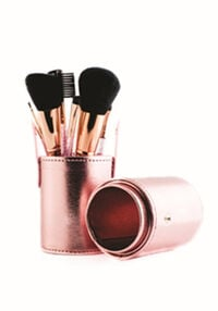 Limited Edition 12-Piece Rose Gold Brush Set