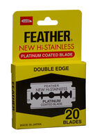 Hi-Stainless Double Edge Blades - 20 ct.