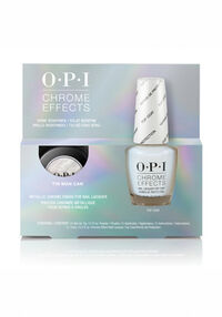 Tin Man Can Chrome Effects Nail Lacquer Top Coat Duo