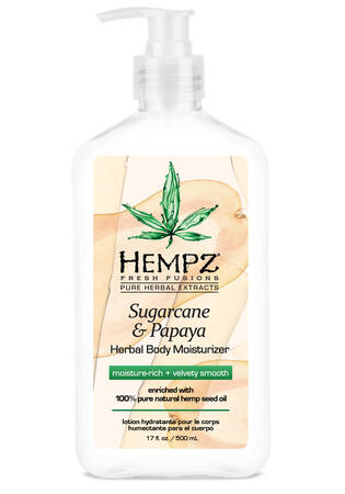 Sugacane & Papaya Herbal Body Moisturizer