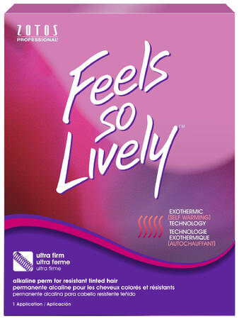 FEELS SO LIVELY Alkaline Perm - Tinted Resistant Hair