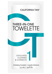 Three-In-One-Towelette Exfoliator