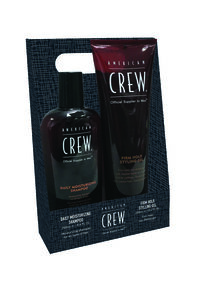 Daily Moisturizing Shampoo + Firm Hold Styling Gel Holiday Duo