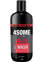 4SOME 4-1 Hair, Body, Face, & Beard Wash 16 oz.