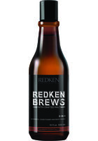 Redken Brews 3-in-1 Shampoo, Conditioner & Body Wash