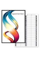Pro 4 Column Appointment Book