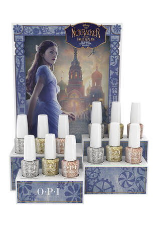 The Nutcracker and the Four Realms Gel Color 12-Piece Glitter Display